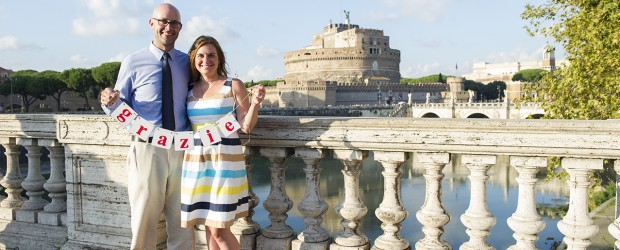 Rome Photo Shooting at Castel Sant'Angelo