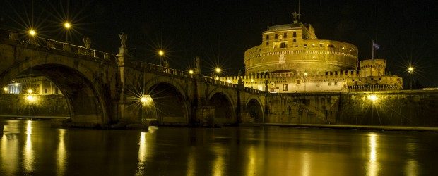 An image of Castel sant'Angelo taken during a Rome Photo Walking Tour