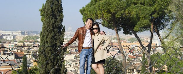 A photography walk at Villa Borghese, Rome